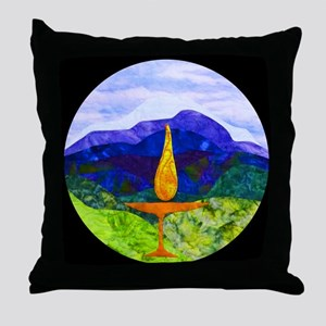 Mountains Chalice Cir Throw Pillow