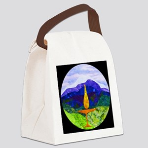 Mountains Chalice Cir Canvas Lunch Bag