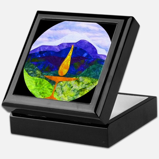 Mountains Chalice Cir Keepsake Box