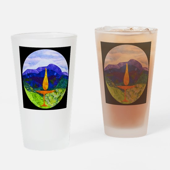 Mountains Chalice Cir Drinking Glass