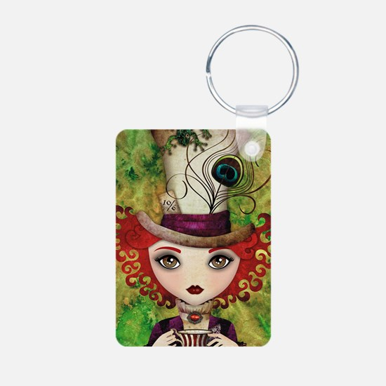 Lady Hatter Keychains