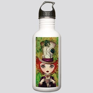 Lady Hatter Stainless Water Bottle 1.0L