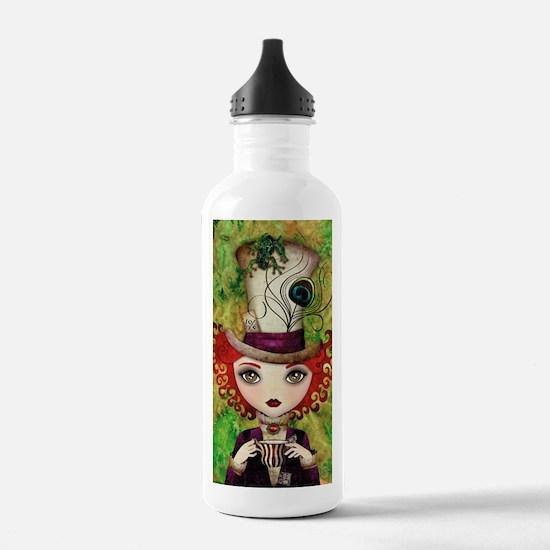 Lady Hatter Water Bottle