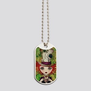 Lady Hatter Dog Tags