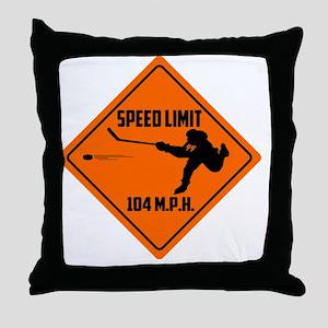 anaheim hockey Throw Pillow
