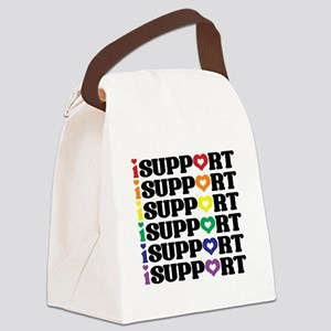 iSupport Logo Canvas Lunch Bag