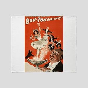 Bon Ton Burlesquers 4 - HC Miner Litho - 1898 Thro