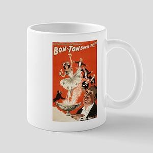 Bon Ton Burlesquers 4 - HC Miner Litho - 1898 Mugs