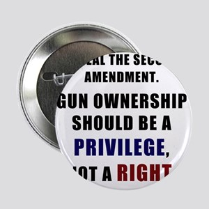"Repeal the second amendment 2 2.25"" Button"