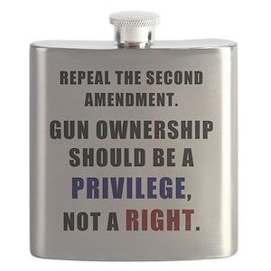 e12f4b9c82ba Second Amendment Rights Flasks - CafePress