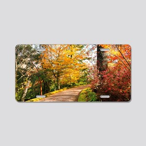 Autumn colors Aluminum License Plate