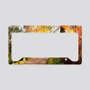 Autumn colors License Plate Holder