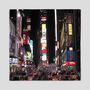 Times Square Queen Duvet
