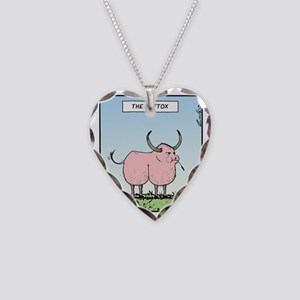 The Buttox Necklace Heart Charm