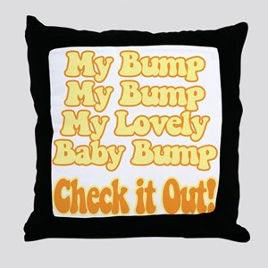 baby-bump2 Throw Pillow