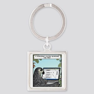 Searching for Prey Square Keychain