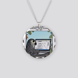 Searching for Prey Necklace Circle Charm