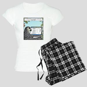 Searching for Prey Women's Light Pajamas