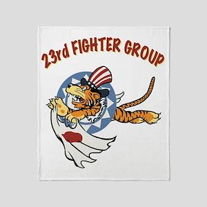 23rd FG insignia Throw Blanket