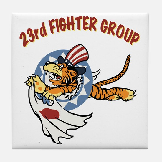 23rd FG insignia Tile Coaster