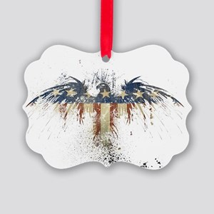 The Freedom Eagle, Full Color Picture Ornament