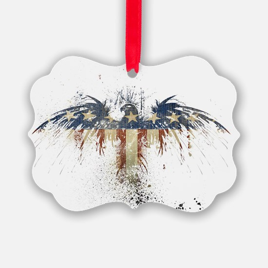 The Freedom Eagle, Full Color Ornament