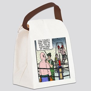 Come out swinging Canvas Lunch Bag