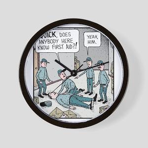 First aid Wall Clock