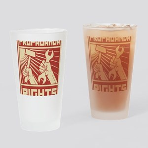 Rights Workers Propaganda Drinking Glass