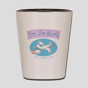 I'm the Stork Shot Glass
