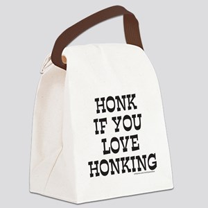 HONK IF YOU LOVE HONKING T-SHIRTS Canvas Lunch Bag