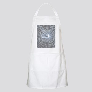 Broken Glass 2 Gray Apron