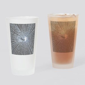 Broken Glass 2 Gray Drinking Glass