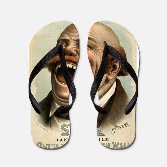 Over the Garden Wall - WJ Morgan - 1885 Flip Flops