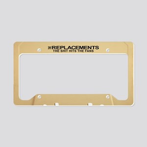 The Replacements License Plate Holder