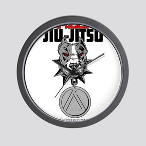 BJJ POWER Wall Clock
