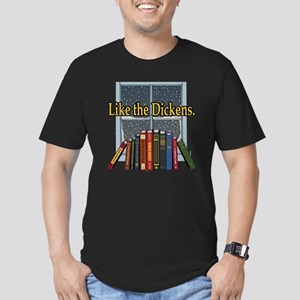 Like the Dickens Men's Fitted T-Shirt (dark)