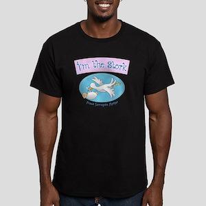 Im the Stork - Surroga Men's Fitted T-Shirt (dark)