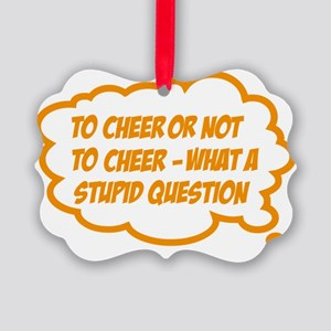 cheer Picture Ornament