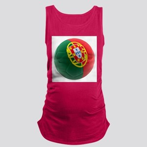 Portugal World Cup Ball Maternity Tank Top