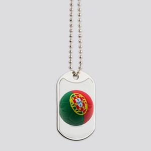 Portugal World Cup Ball Dog Tags