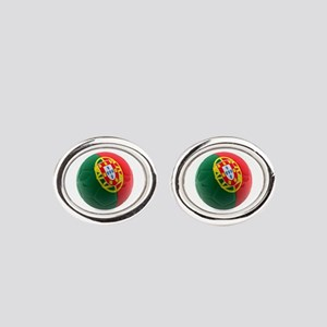 Portugal World Cup Ball Cufflinks
