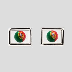 Portugal World Cup Ball Cufflinks