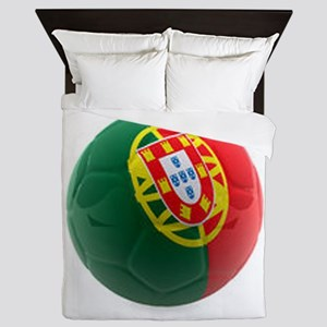 Portugal World Cup Ball Queen Duvet
