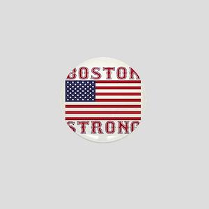 BOSTON STRONG U.S. Flag Mini Button