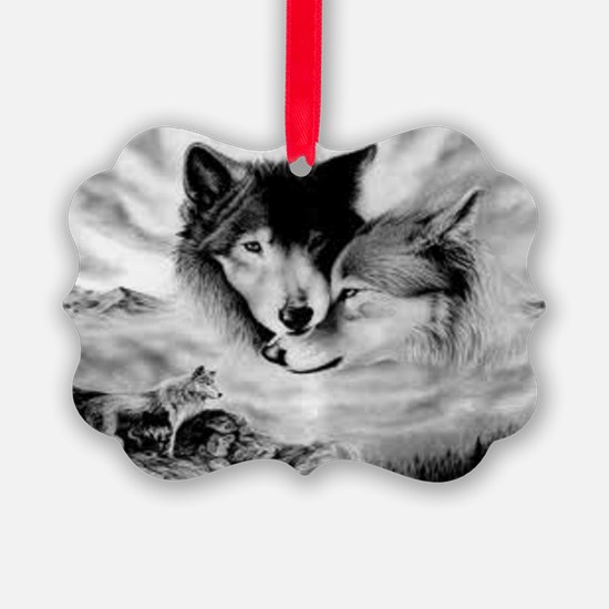Wolves Ornament