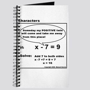 ADD TO BOTH SIDES OF EQUATION Journal