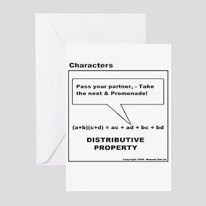 DISTRIBUTIVE PROPERTY Greeting Cards (Pk of 10