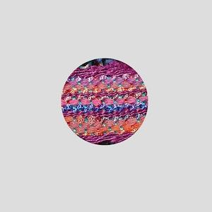 Square Saori Mini Button