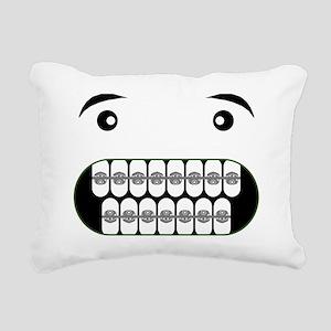 Bad Apple Rectangular Canvas Pillow